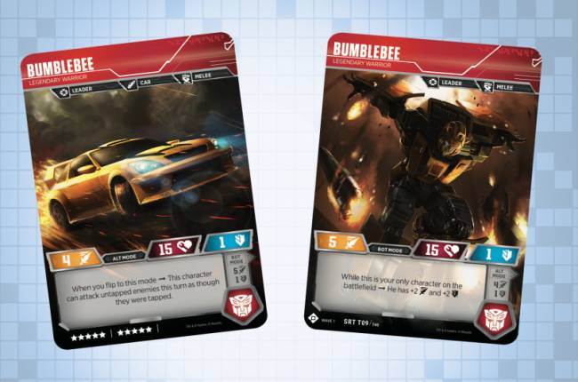 Exclusive First Look At Bumblebee Legendary Warrior in Transformers Trading Card Game