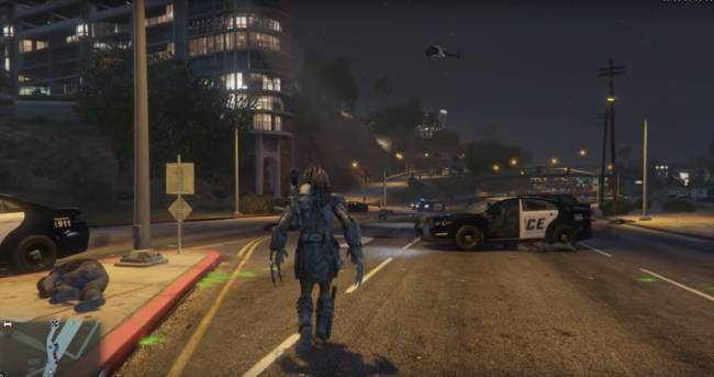 Stalk Prey Across Los Santos As The Predator In This GTA V Mod