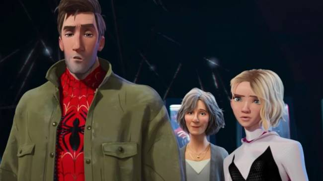 New Spider-Man: Into The Spider-Verse Trailer Contains Insomniac Easter Egg
