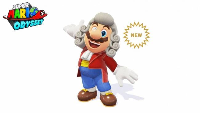 New Super Mario Odyssey Conductor Outfit Revealed