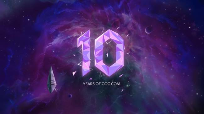 GOG Celebrates 10-Year Anniversary With Community Giveaway
