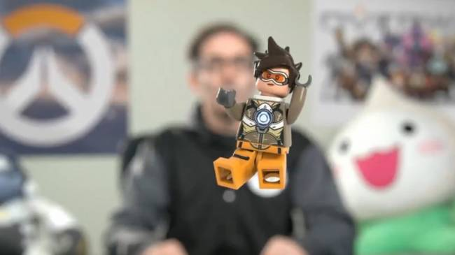 Look Out World! Tracer Is Here... In Lego Form