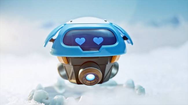 Blizzard Reveals Collectible Version Of Mei's Levitating Snowball