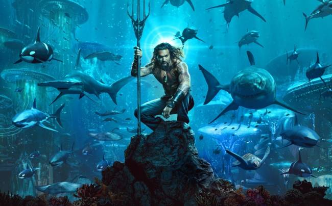 New Extended Trailer Shows Off Aquaman's Traditional Green and Gold Look