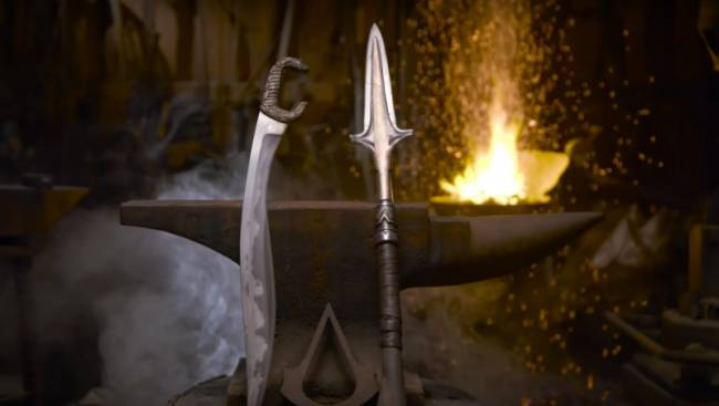 YouTuber Creates Replicas Of Assassin's Creed Odyssey Weapons