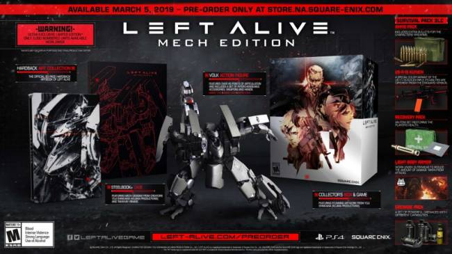 Left Alive Gets March Release Date