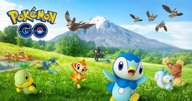 Gen 4 Arrives Today In Pokémon Go
