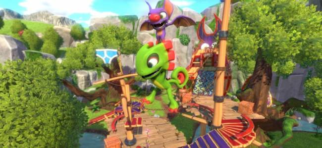 Yooka-Laylee Reveals Footage Of 64-Bit Tonic For Nostalgic Fans