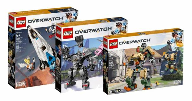 More Overwatch Lego Sets Shown, Including Widowmaker And Reinhardt