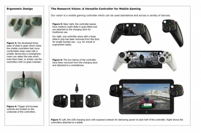 Report: Microsoft Is Prototyping Controllers For Phones And Tablets