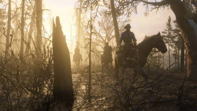 There's A Place In Red Dead Redemption II Where Horses Spontaneously Combust