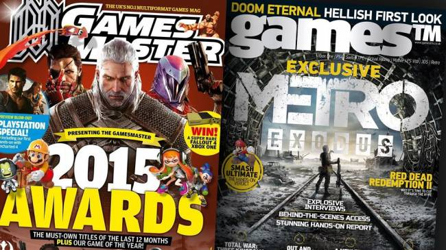 UK magazines GamesTM and GamesMaster to release final issues next month