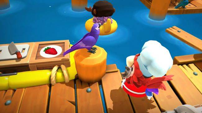 Overcooked 2 gets tropical in new DLC