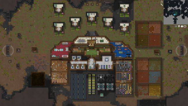 Space crash management sim RimWorld releases October 17th