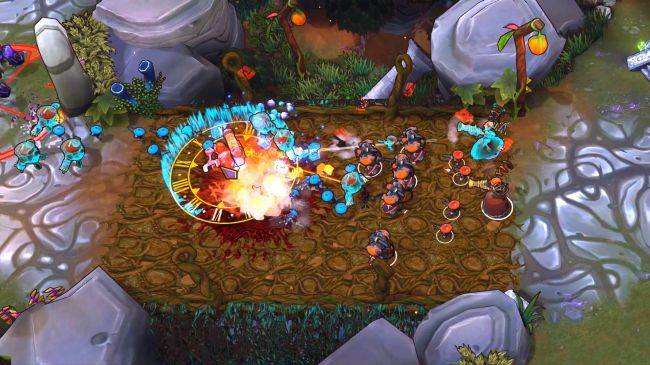 Arena RTS The Maestros is all about mutating your troops to victory