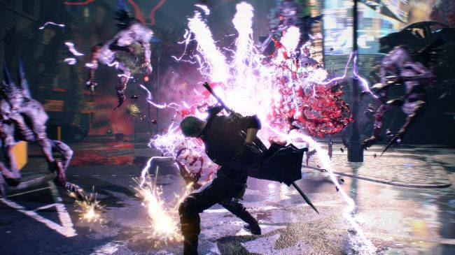 Devil May Cry 5 footage shows Dante using his hat as a weapon