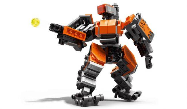 The first Lego Overwatch model is Bastion