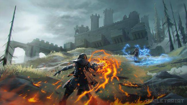 Spellbreak is a battle royale with elemental magic and huge explosions