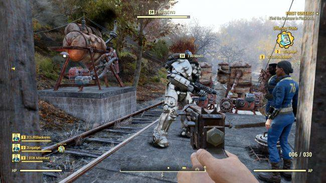 The Enclave are one of Fallout 76's factions, Bethesda confirms