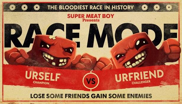 Super Meat Boy is getting a new multiplayer race mode this week