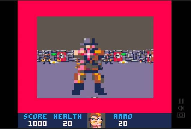 Someone has ported Wolfenstein 3D for the Pico-8 fantasy console