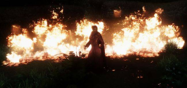 Burn Skyrim to the ground with this stunning, hyper-realistic fire mod