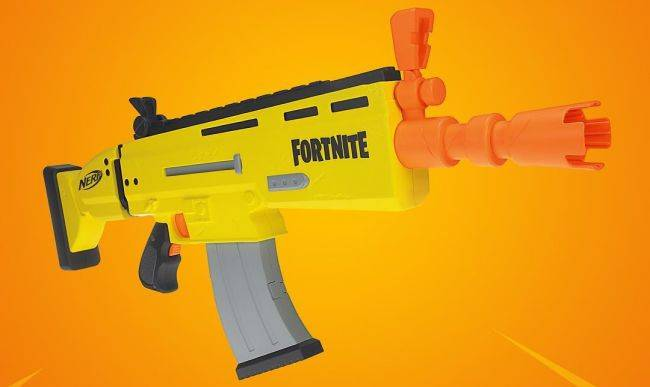 An official Fortnite Nerf Blaster is coming next year
