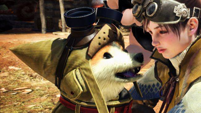 Turn Monster Hunter's cat pals into man's true best friend with the Canine Palico mod