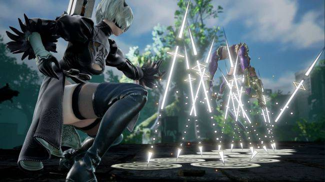 Soulcalibur 6 adding Nier: Automata's 2B to fighter roster