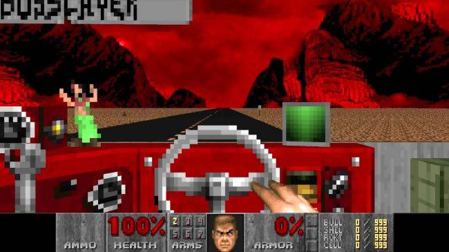 Desert Bus for Doom adds violence to the monotony