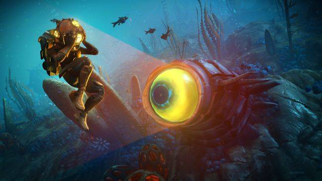 No Man's Sky delves beneath the waves in The Abyss update, available today
