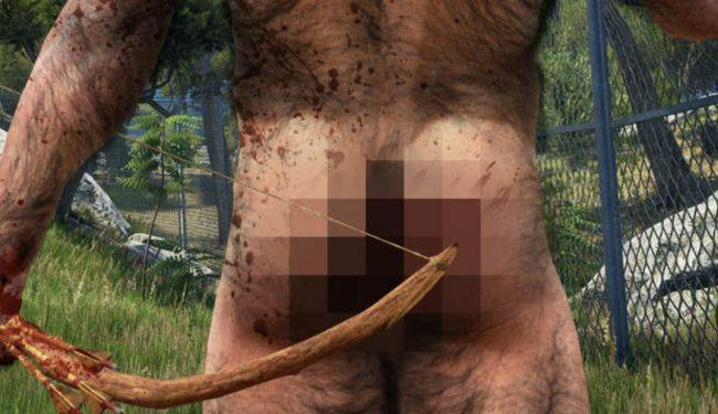 Scum is apparently getting naked butts and other bits