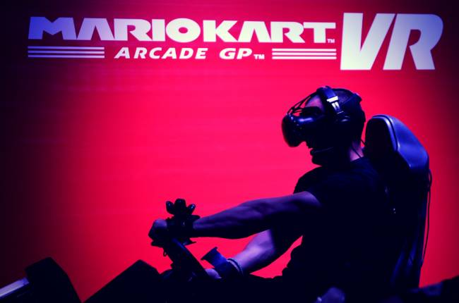 Mario Kart VR lands in the US