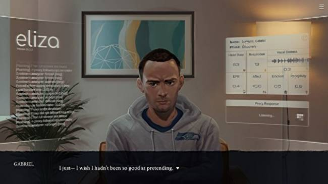 Eliza's creator on the real life inspirations for his fictional therapy software