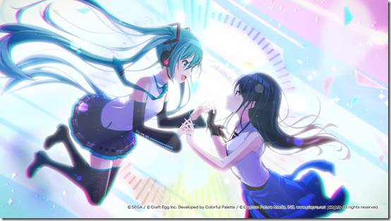 Hatsune Miku And The Vocaloids Meet Regular Humans In Sega And Craft Egg's Project Sekai