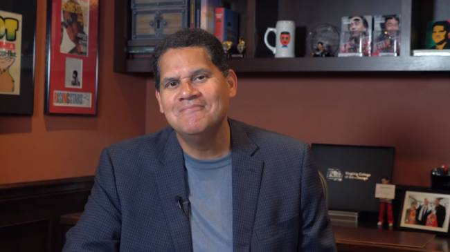 Reggie Fils-Aime Receives Life Time Achievement Award from Video Game Hall of Fame