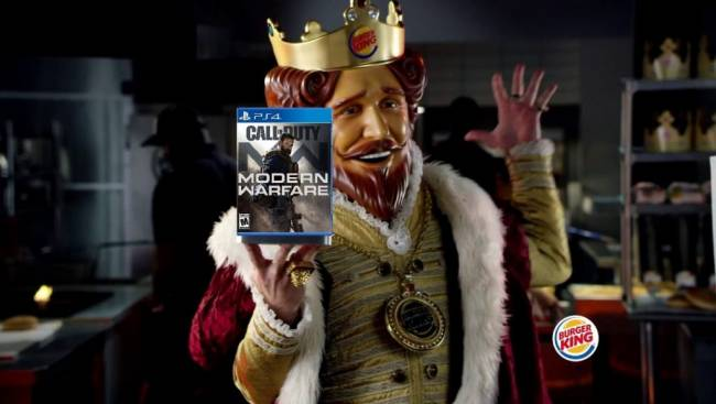 Call of Duty and Burger King to Partner for Modern Warfare Crossover