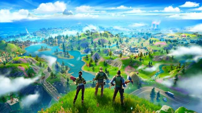 Fortnite Emerges From The Black Hole With Chapter 2