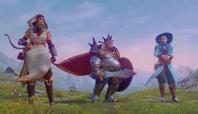 Watch four fat fighters roll in on pumpkins in the new Trine 4 trailer