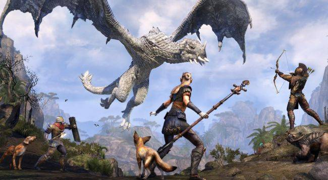 Slaughter dragons to save cats in this Elder Scrolls Online charity campaign