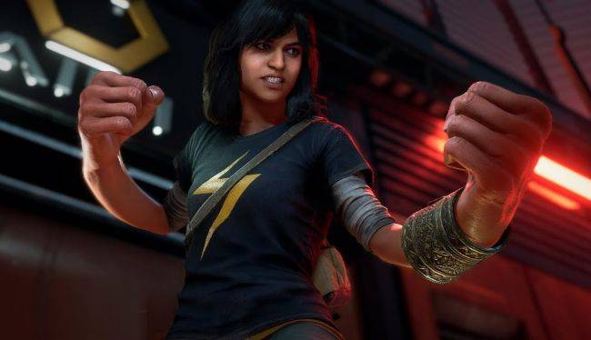 Check out Ms. Marvel's massive mitts in a new Marvel's Avengers trailer