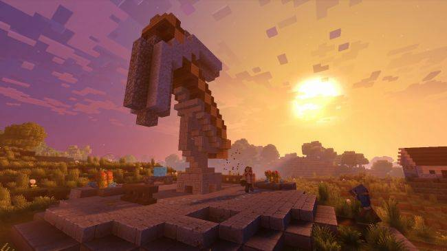 Watch this Minecraft player beat the game without mining a single block