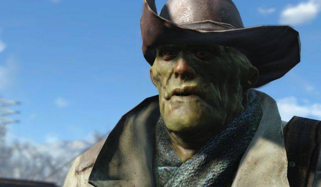 See Fallout 4's Preston Garvey in his final form—a super mutant