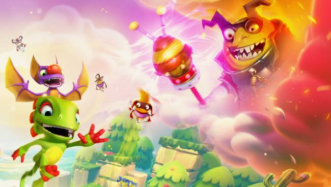 Yooka-Laylee and the Impossible Lair bounced onto PC today