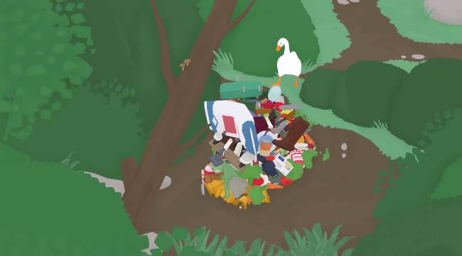 Untitled Goose Game goose gets jerkier, strips town of all valuable objects
