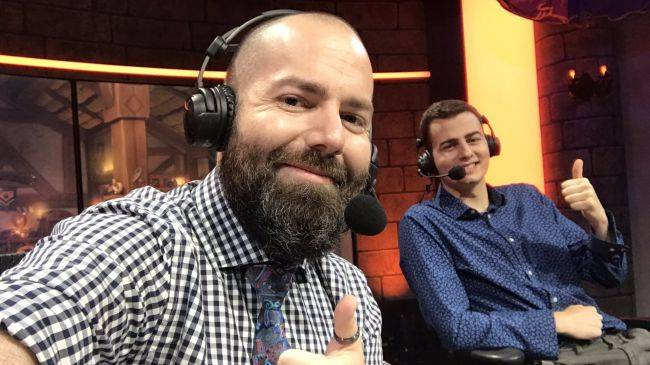 Hearthstone caster Nathan