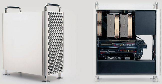 This case will make your PC look like a Mac, if that's your thing