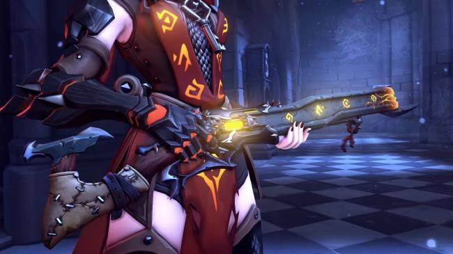 Blizzard is working on a fix for Ashe's new Halloween skin in Overwatch