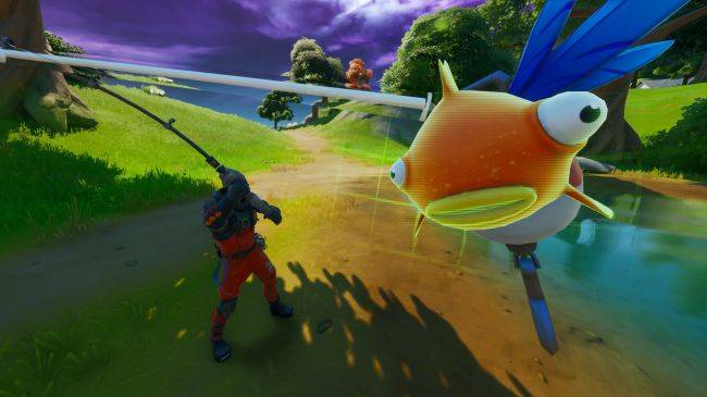 Fortnite's Mythic Goldfish is real and might be its deadliest weapon yet
