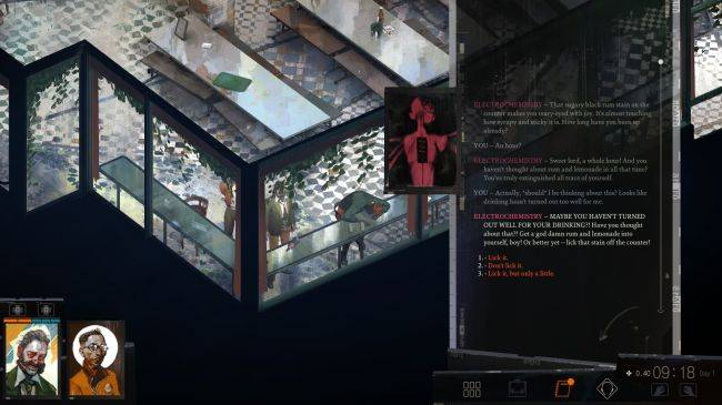 Disco Elysium dev explains how its drugs work